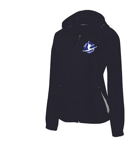 Ladies Sport-Tek® Colorblock Hooded Raglan Jacket