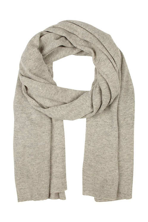 Acc12i - Cash blend scarf - Stone