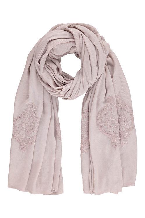 Acc7D - Viscose crep scarf - Purple