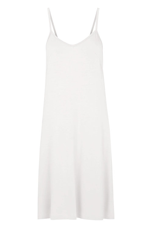 3340B - Slip dress - Pearl