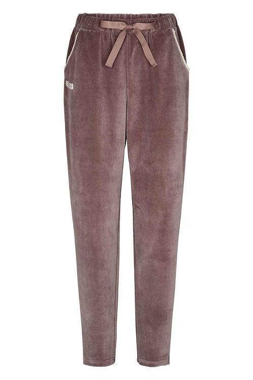 3763D - Velvet Pants - Twilight rose