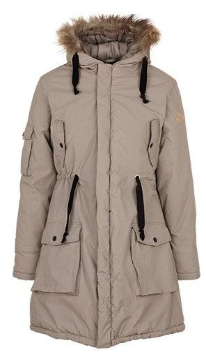 2161i - Parka coat – Stone