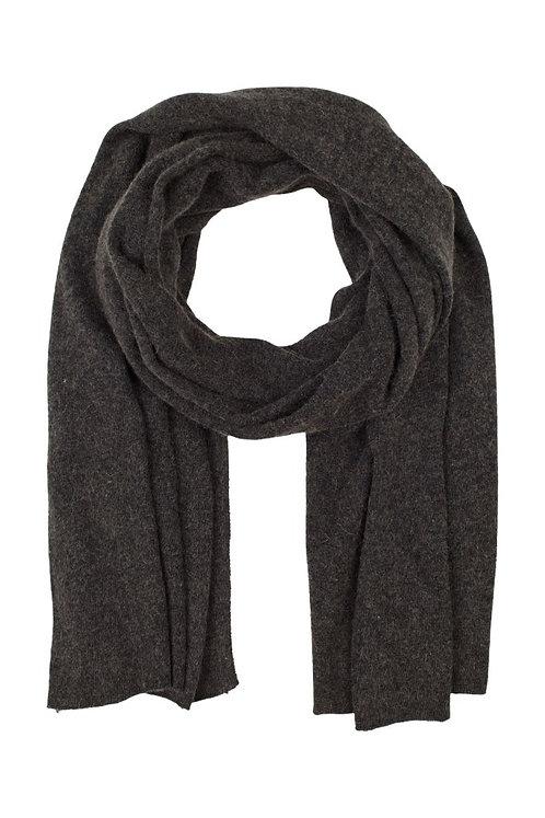 Cash blend scarf - Dark grey