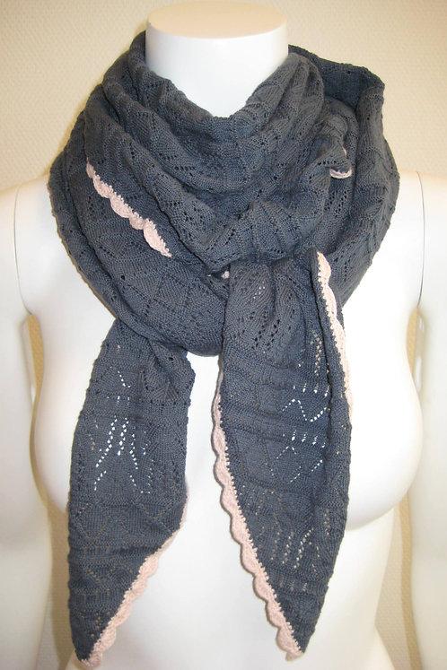 Acc7G - Knit Scarf - Blue