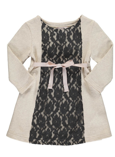 2865B - Sweat dress - Beige