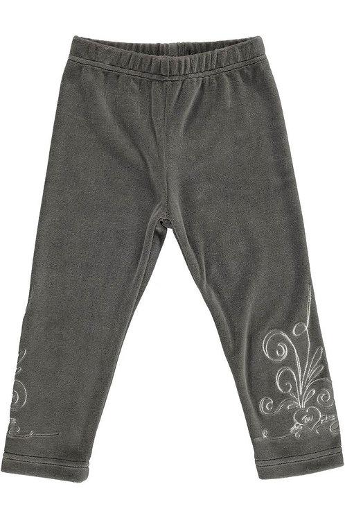 2510J - Velvet leggings - Mocha