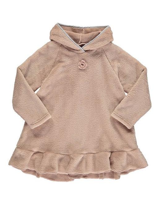 2875C - Fleece tunica - Rosa