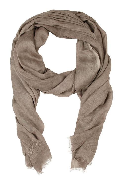 Modal scarf - Plain Nougat