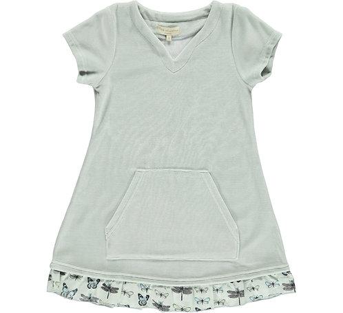 2362P - Velvet Tunica dress - Mint