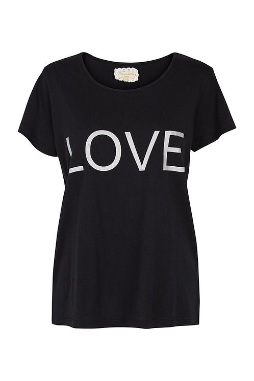 2568L - Love T-shirt - Black