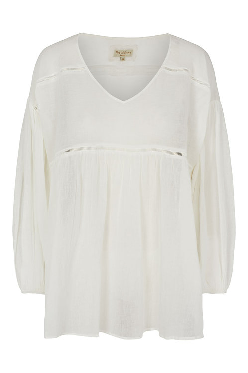 3805B - Loos fit shirt - Off-white