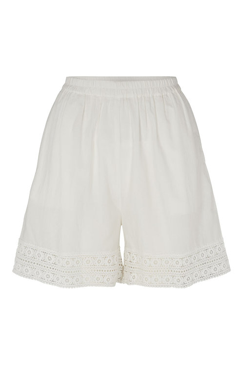 3820B - Cotton shorts - Off-White