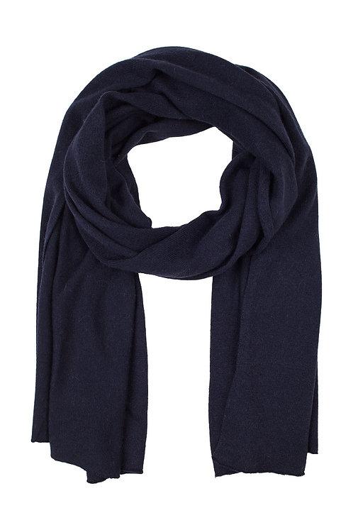 Cash blend scarf - Blue