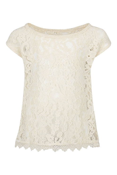 2660C - Lace blouse - Rosa
