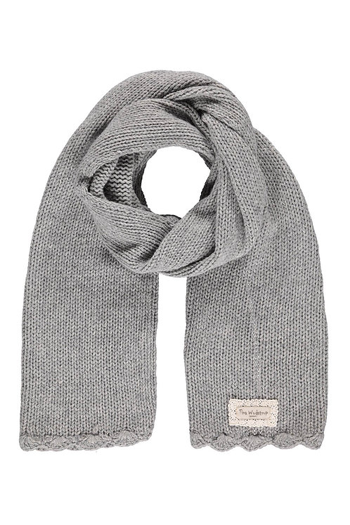 Acc4H - Wool Bamboo Scarf - Light grey