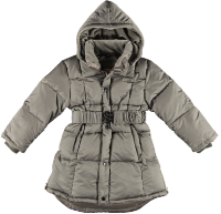 2166i - Down coat - Stone