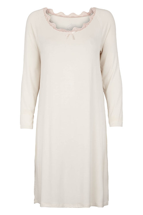 2814B - Night gown - Off-white