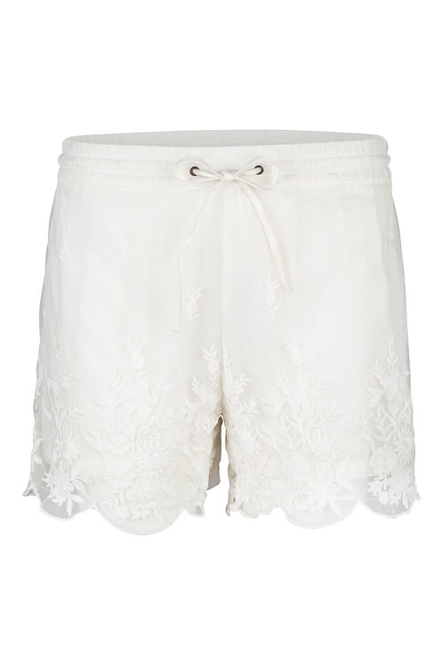 2697B - Shorts w.nets lace - Off.White