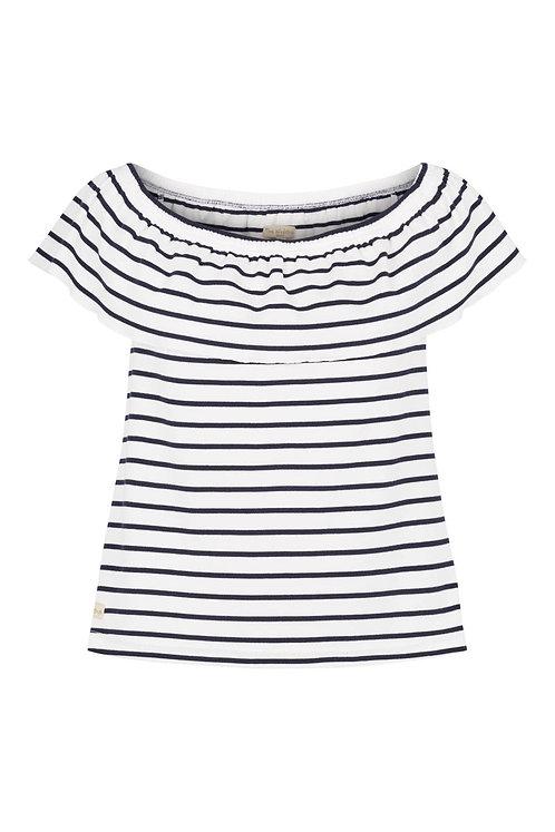 3525A - Off-shoulder top - Stripe
