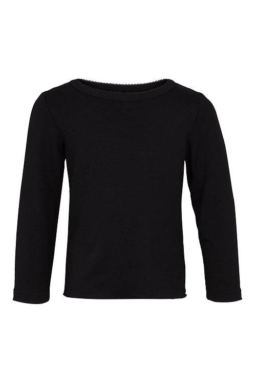 3465L - Viscose T-shirt - Black