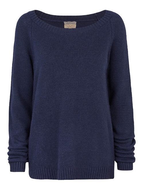 2901G - Sweater cash blend - Dark blue