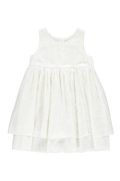 3823B-1 - Modal dress - Off-white