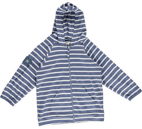 2337 - Stripe jacket - Blue