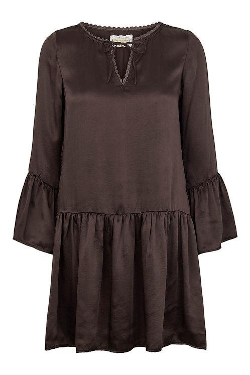 3485L - Viscose Dress - Black