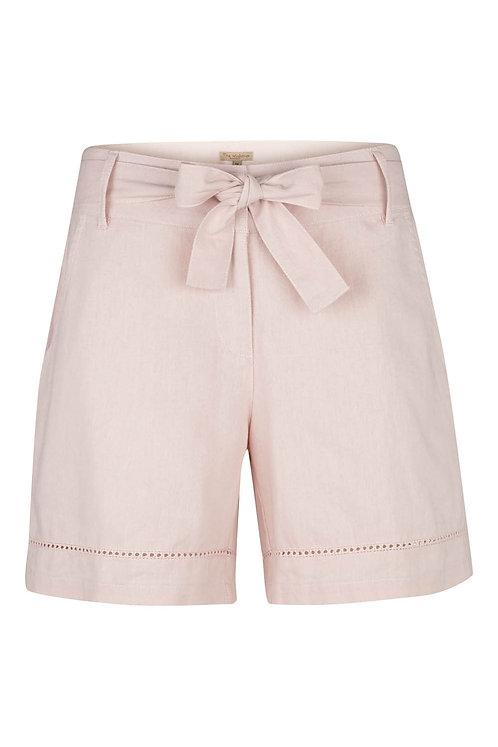2733C - Linen shorts - Rosa