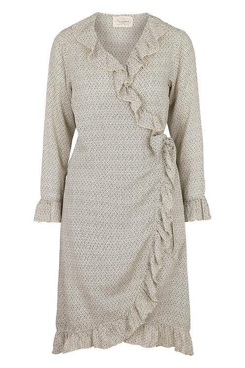 3603A - Wrap around dress - Print
