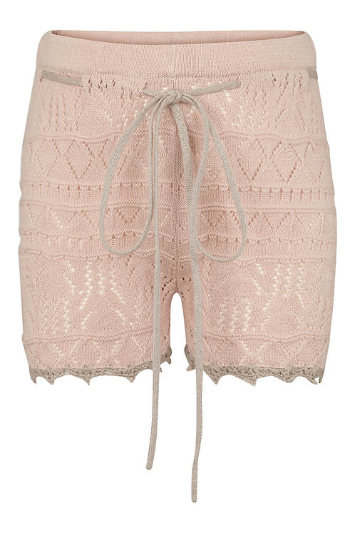 2744i - Knit shorts - Sand
