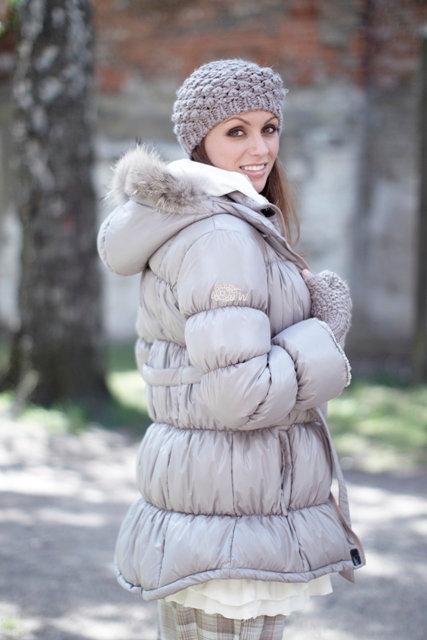 1510A - Jacket - Shiny nougat