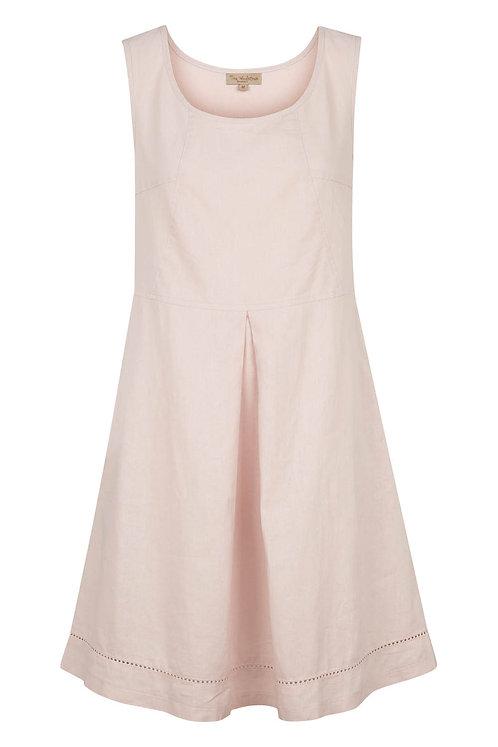 2739C - Linen Dress - Rosa