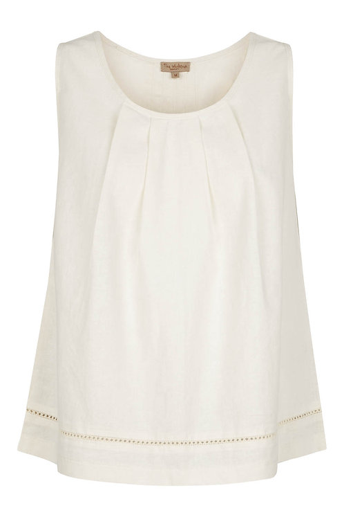 2734B - Linen top - Off.White