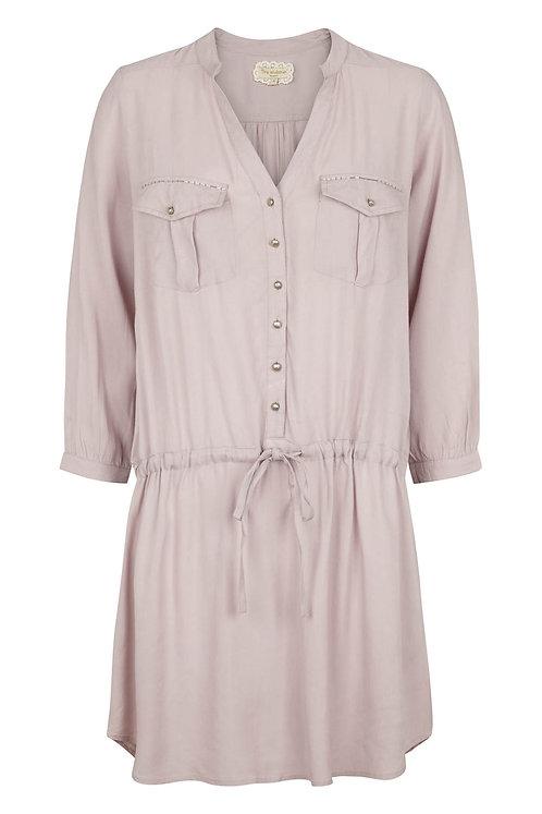 2707D - Long shirt - Purple