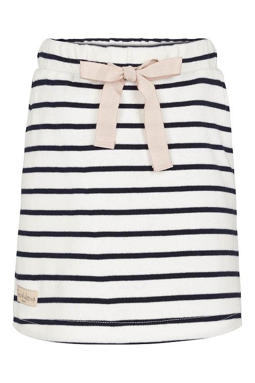 Striped Skirt w.ribbon