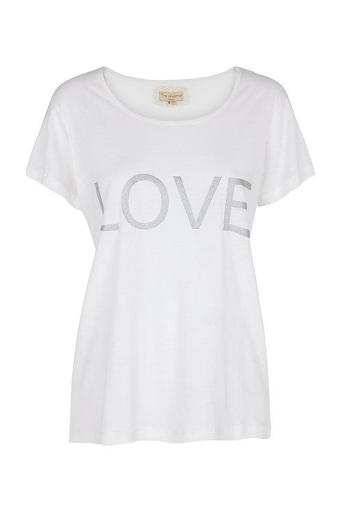 2568D - Love T-shirt - Pail purple