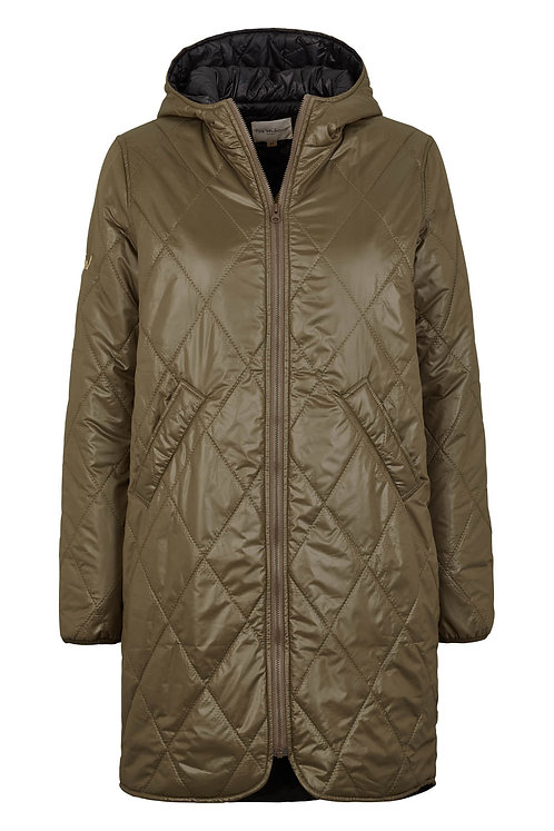 3422J - Quilt jacket - Dusty Olive