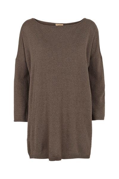 2410J - Cashblend blouse - Stone