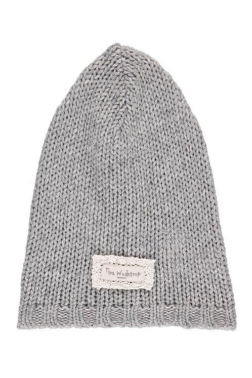 Acc5H - Wool Bamboo Hood - Light grey
