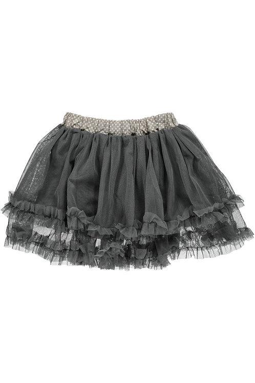 2520K - Tulle skirt - Grey