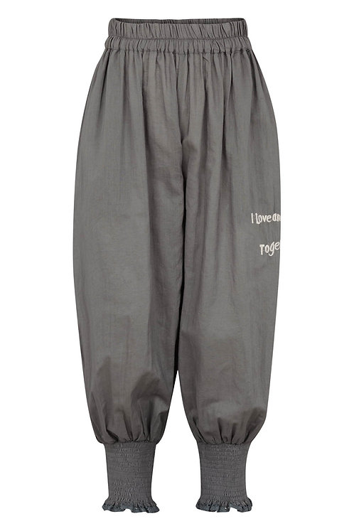2775K - Cotton Pants - Granit