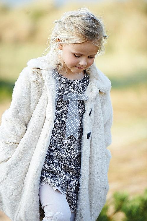 "2487B - ""Fur""coat - Beige"
