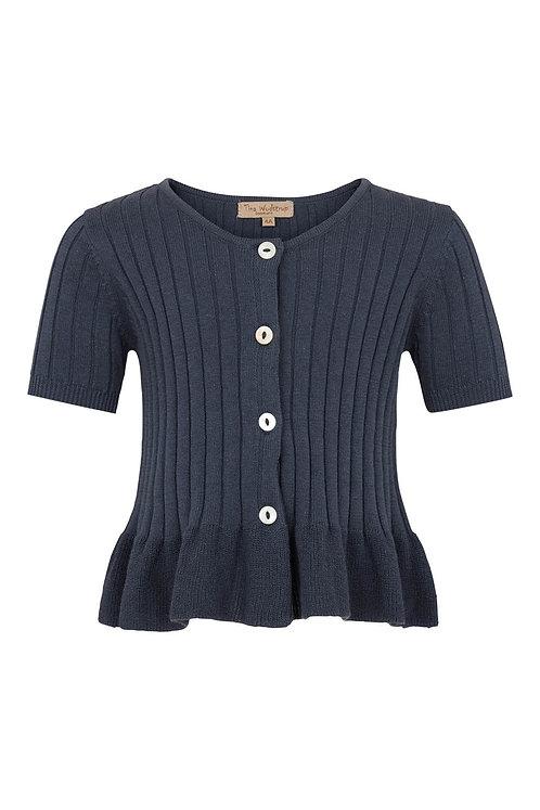 2749G - Short sleeve cotton knit - Blue
