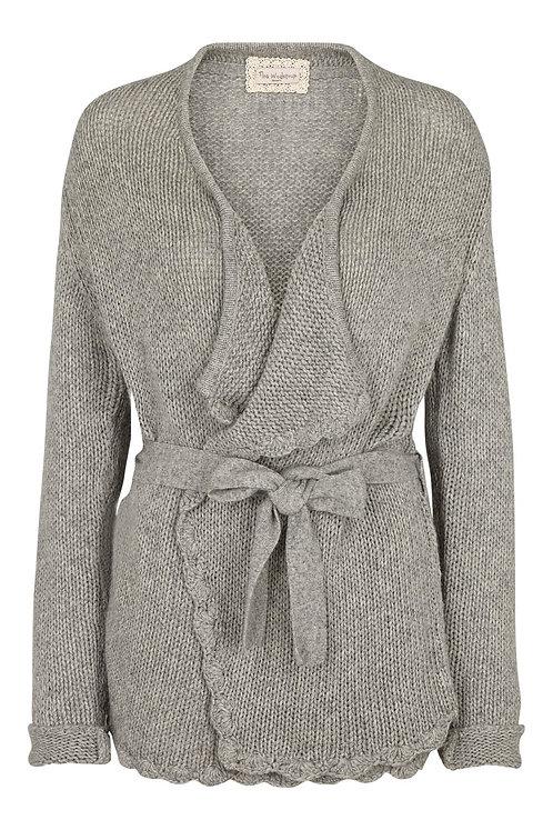 3625H - Wool Bamboo jacket - Light grey