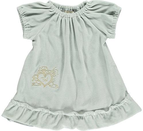2365P - Velvet Tunica dress - Mint