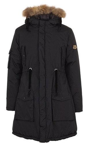 2161L - Parka coat - Black