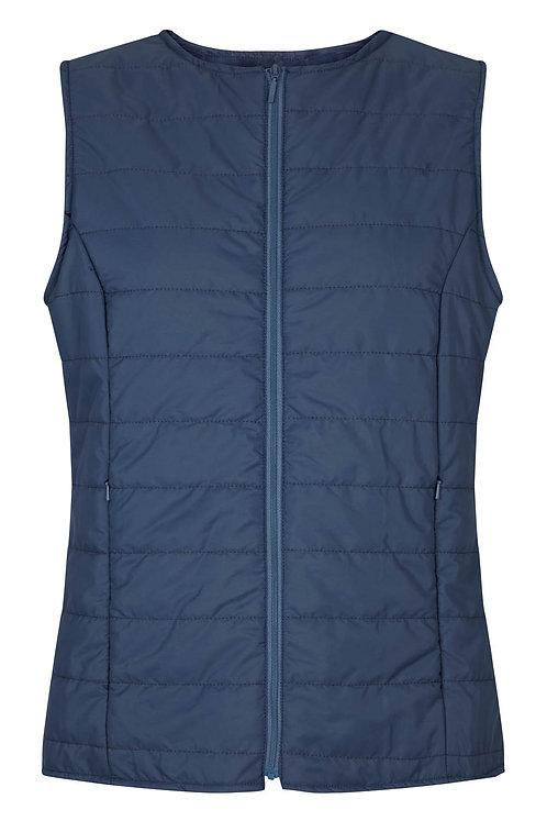 2615C - Quiltet waistcoat - Rosa