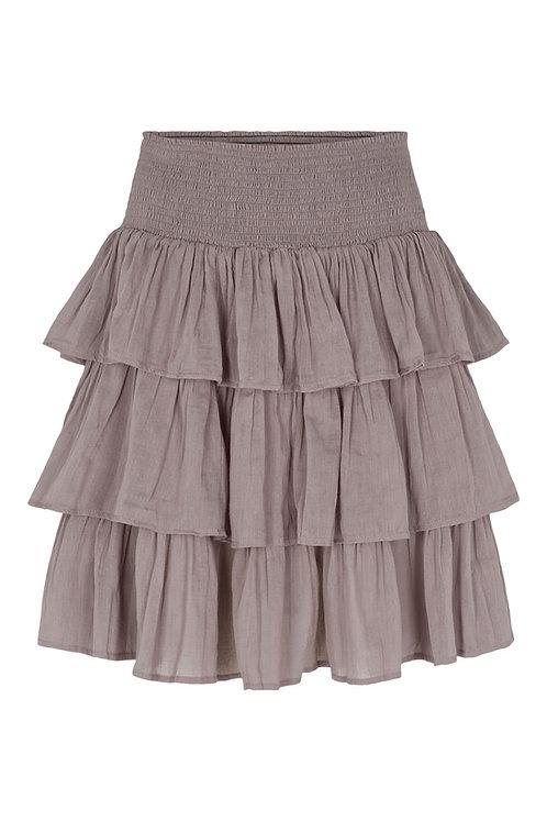 3814J-1 - Gauge frill skirt - Mink