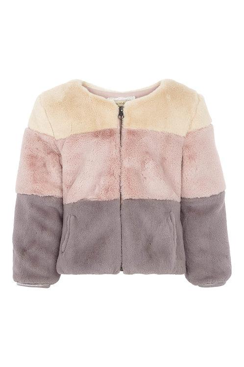 Fur jacket  - Mix color
